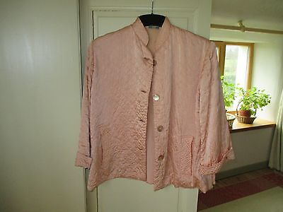 Vintage Silk Quilted Bed Jacket. Gorgeous