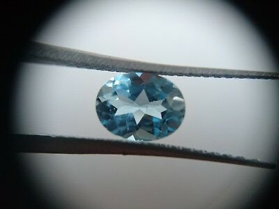 4.6ct Loose Oval cut Pair Sky Blue Topaz. 9x7mm Natural Gemstones