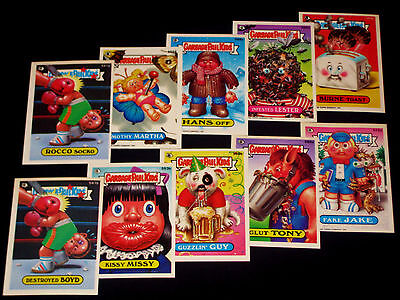 GARBAGE PAIL KIDS - 1988 Topps - 14th Series - Complete Set - 80 Cards VG - OS14