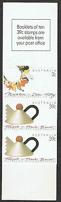 Australia 1097a MNH Booklet cream paper Australian National Gallery 1988