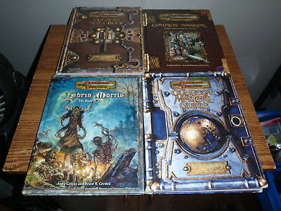 Dungeons & Dragons V.3.5 Book Set Masters Guide Players Handbook Warrior More