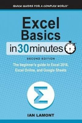Excel Basics in 30 Minutes (2nd Edition): The Beginner's Guide to Microsoft