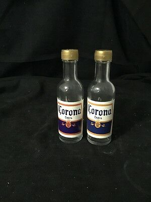 Corona Extra Salt And Pepper Shakers Excellent Condition