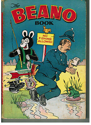 THE BEANO BOOK 1955 vintage comic annual NICE!