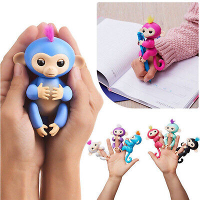 Alientech Lovely Baby Monkey Electronic Interactive Toy Robot Pet Finger Gifts