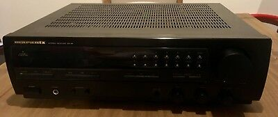 Marantz stereo receiver SR-45 40WPC. Excellent sounding. Good condition for age.