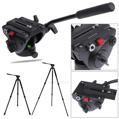 360° Tripod Video Fluid Head Hydraulic  Damping Monopod for Manfrotto 501PL DSLR