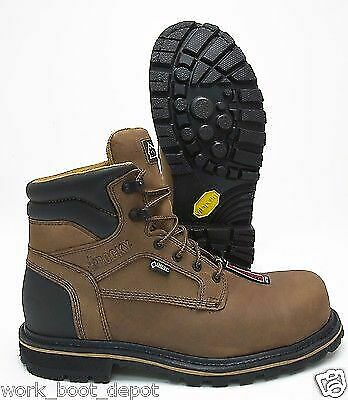 78838c78a5e ROCKY BROWN LEATHER Goretex Composite Toe Waterproof Work Boot ...