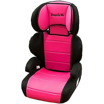 Dream On Me Deluxe Booster Car Seat Pink/Black