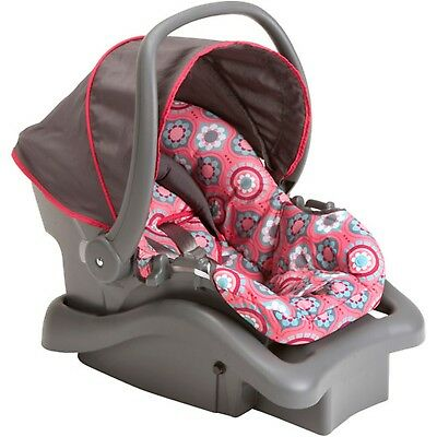 Cosco Light 'N Comfy DX Infant Car Seat Choose Your Pattern Posey Pop