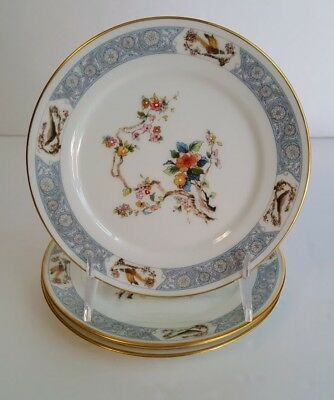3 Bread & Butter Plates Oxford Bone China By Lenox Ming Blossom Pattern