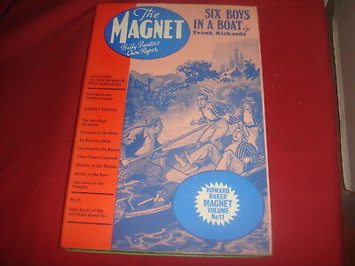 THE MAGNET LIBRARY #11 Six Boys In A Boat Billy Bunter Howard Baker HC