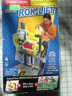 Rokenbok System Power Rok-Lift Radio Remote Control NEW Free Ship