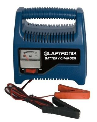 Laptronix Car Battery Charger 6/12 volt 8-Amp Van Boat Bike 2.5L Fast Charging