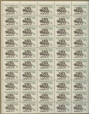#1934a FULL SHEET/50 W/ 15 VERT PAIRS, IMPERF BTWN MAJOR ERROR CV $2,625 WLM4383
