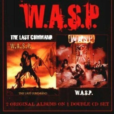 'WASP' & The Last Command  CD NUOVO