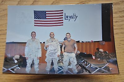 Iraqi Freedom OIF 1st Armored Photograph 5 x 7 2nd Plt B Co 1/36 Inf. American