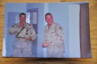 Iraqi Freedom OIF 1st Armored Photograph 3 x 5 Ready for inspections!