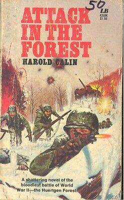 Attack in the Forest by Harold Calin (1967, Paperback)