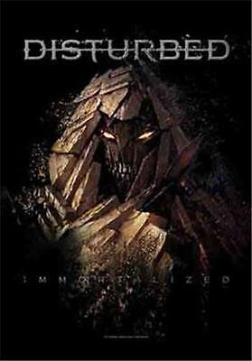 """DISTURBED Rock flag/ Tapestry/ Fabric Poster  """"Shattered""""   NEW"""