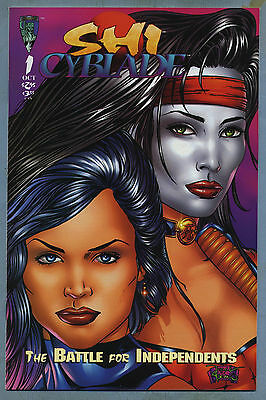 Shi Cyblade Battle for Independents 1 1995 William Tucci Crusade Comics D