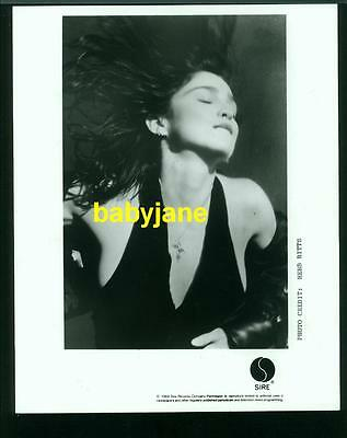Madonna Vintage 8X10 Photo Taken By Herb Ritts 1989 Sire Records Like A Prayer