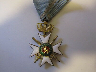 Bulgaria WWII Military Order for Bravery 3rd Class 2nd Grade 1941