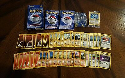 Fully Complete Pokemon 2-Player Starter Theme Deck - with Machamp 1st Ed. SEALED