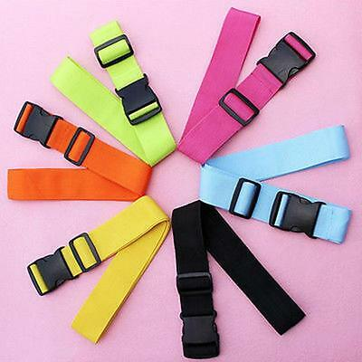 Adjustable Luggage Straps Travel Buckle Baggage Tie Down Belt Lock Suitcase GIFT