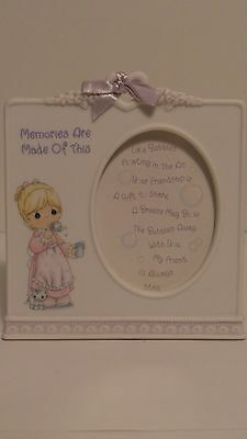 Photo Picture Frame Precious Moments Memories Are Made of This Bubble 2 X 3 2003