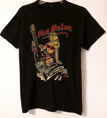VAN HALEN WORLD TOUR 07 - Running with the Devil Graphic Concert Tee - Unisex: M