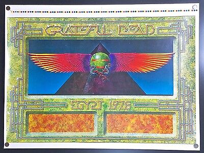 Grateful Dead Egypt 1978 (1978) – Original Printer's Proof Concert Tour Poster