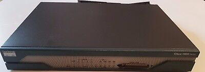 CISCO 1801 Wireless Router ADSL2+ 384MB RAM 128MB CF Fully Loaded