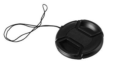 55mm Center Pinch Snap-on Front Lens Cap hood Cover for Canon lens Camera