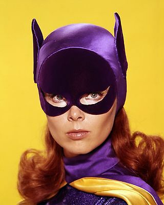 "Set Of 2 Yvonne Craig Batgirl 7"" x 5"" Batman TV Series Photo Prints"