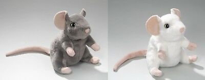 New Plush Cuddly Critters Mouse Soft Toy Teddy Assorted Colours