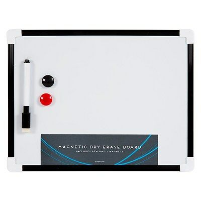 A4 Mini White Board Wipe board Magnetic with Dry Wipe Pen and Eraser