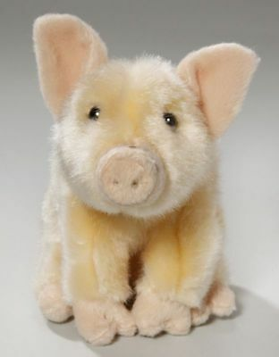 New Plush Cuddly Critters Micro Pig Soft Toy Piglet Teddy