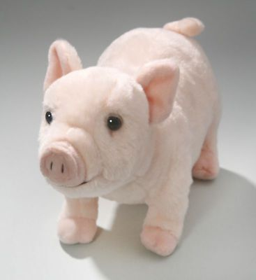 """New Plush Cuddly Critters 10"""" Pig Soft Toy Piglet Teddy"""