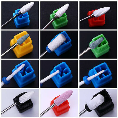 Nail Drill Ceramic Pro Electric Carbide File Bit Replacement Manicure Tools Tips