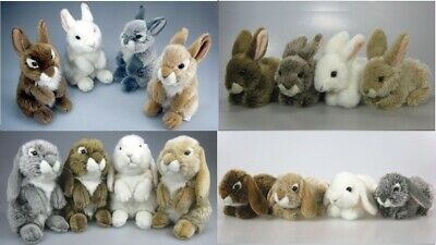 New Plush Cuddly Critters Bunny Rabbit Soft Toy Teddy Lop & Dwarf