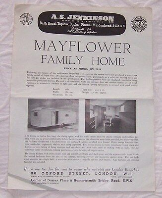 Vintage  Mayflower Family Home  Flyer As  Picture