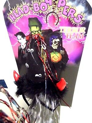 24 x Halloween Terror Team Witches Headbands Boppers Horns Display Stand Joblot