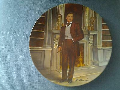Edwin Knowles Gone With The Wind Plate Rhett By Raymond Kursar