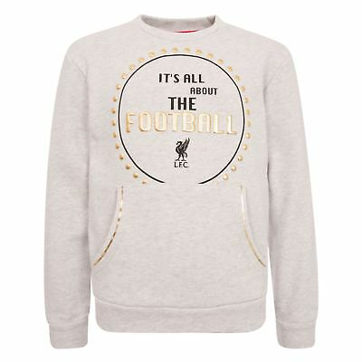 LFC Girls All About Football Crew Neck T-Shirt NWT