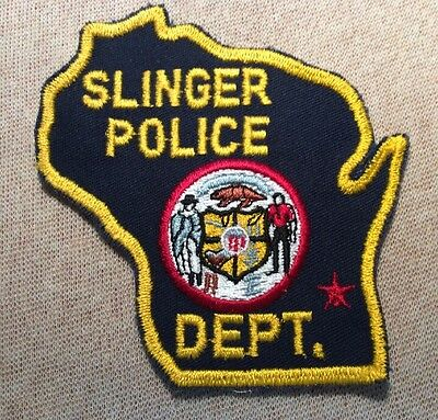 WI Slinger Wisconsin Police Patch