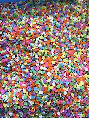 Rainbow confetti/sugar sequins/cake decorations 100g, free postage