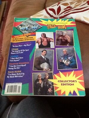 WCW World Championship Wrestling Magazine 6 Issues From 1994