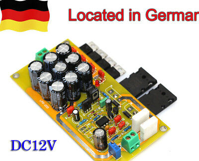 Assembled DC12V Ultra low noise Linear Power supply board    GE