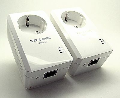 TP-LINK TL-PA2010PKIT / TL-PA2010P 200Mbps Nano Powerline Adapter 2er